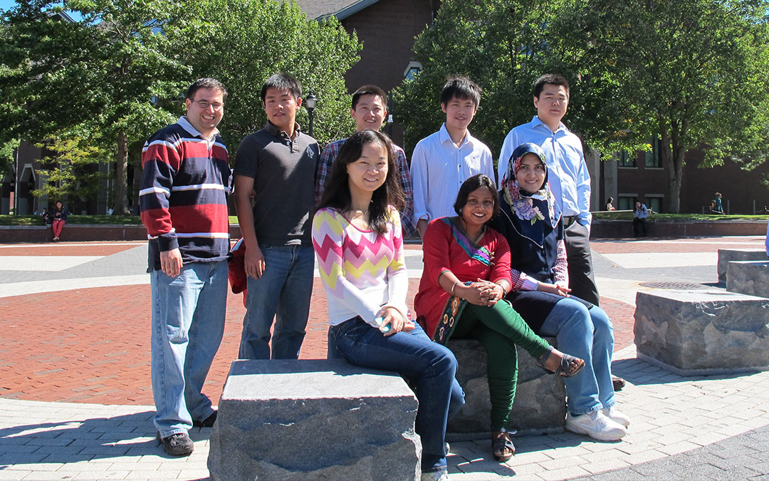 Ph.D. Students on Campus
